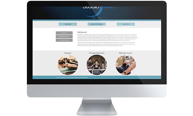 Studio Blue Website 2