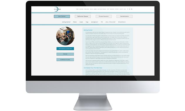 Studio Blue Website 3