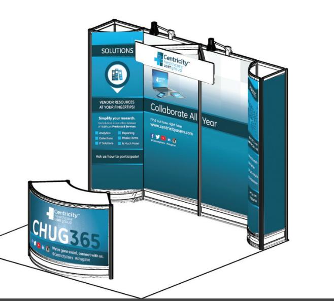 CHUG Trade Show Booth
