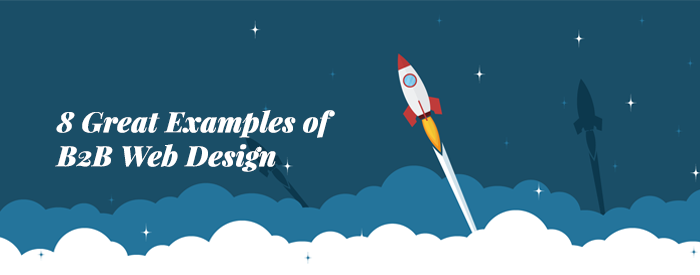 8 Great Examples of B2B Web Design