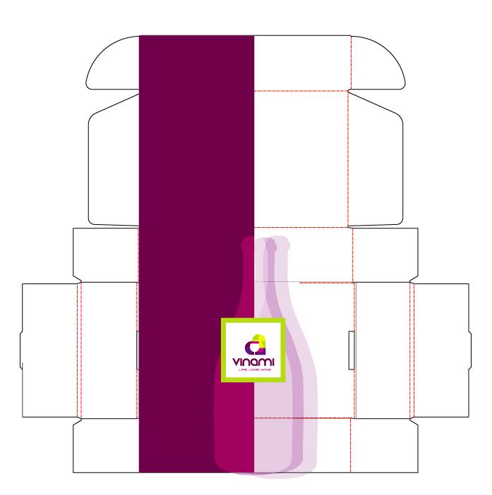 Vinami packaging design - box design- Kistner Group Creative Design Agency Portland